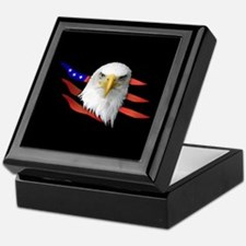 Anerican Eagle Keepsake Box