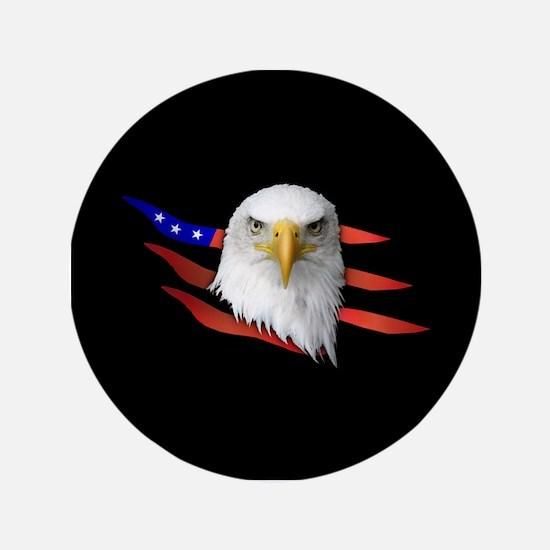 "Anerican Eagle 3.5"" Button"