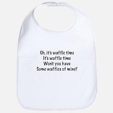 Oh, It's Waffle Time... Bib