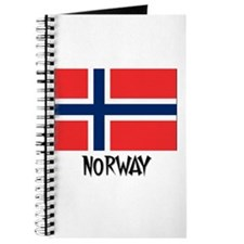 Norway Flag Journal