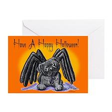Batdog Westie Greeting Cards (Pk of 20)