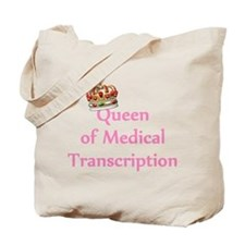 Medical Transcription Tote Bag