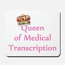 Medical Transcription Mousepad