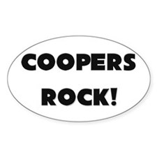 Coopers ROCK Oval Decal