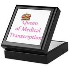 Medical Transcription Keepsake Box