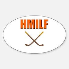 HMILF Hockey Mom I'd Like To... Oval Decal