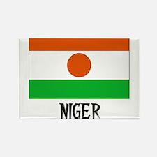 Niger Flag Rectangle Magnet