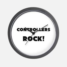Controllers ROCK Wall Clock