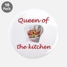 """Chef 3.5"""" Button (10 pack)"""