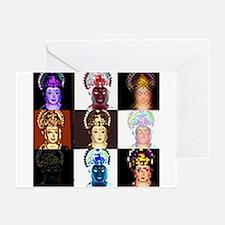 Cool Hindu goddess Greeting Cards (Pk of 20)
