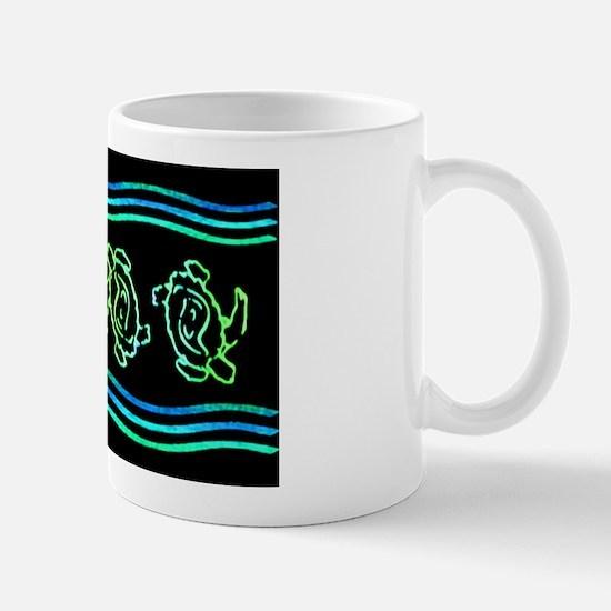 Turtles in Waves Mug