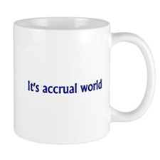 Accountant Small Mug