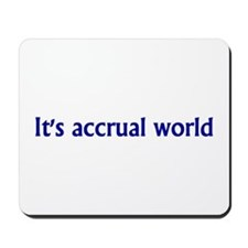 Accountant Mousepad
