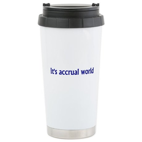 Accountant Stainless Steel Travel Mug