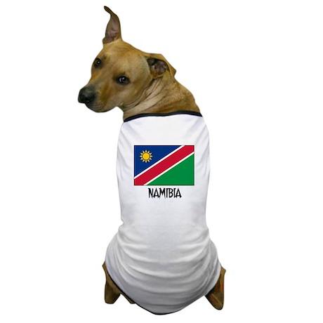 Namibia Flag Dog T-Shirt