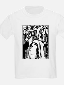 Penquins (Front & back) T-Shirt