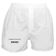 Consumer Psychologists ROCK Boxer Shorts