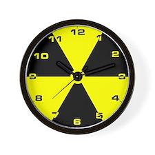 Funny Radioactive Wall Clock
