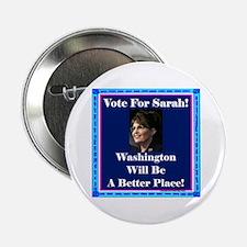 """Make Washington Better"" 2.25"" Button"