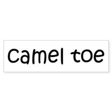 camel toe Bumper Bumper Sticker