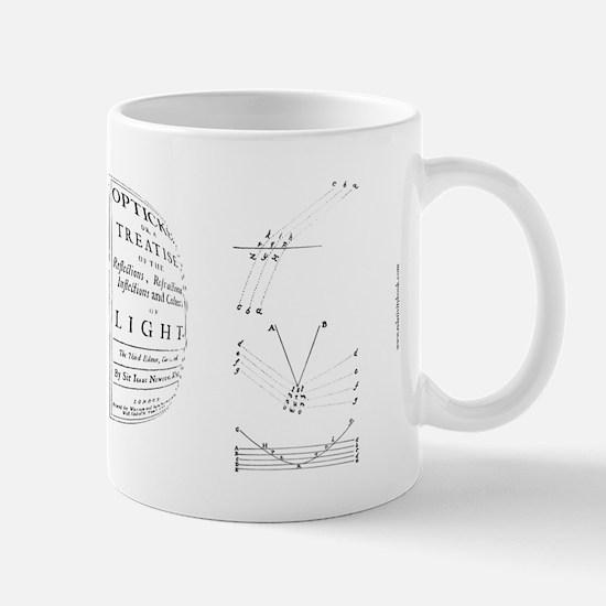 Isaac Newton 'Principia/Opticks' Mug