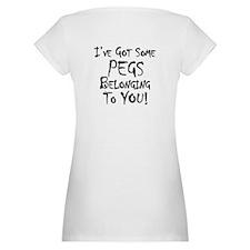 wana buy some pegs? Shirt