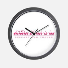 Air Force Mother-in-Law - Girly Style Wall Clock