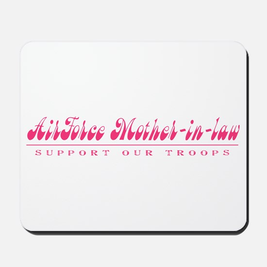 Air Force Mother-in-Law - Girly Style Mousepad