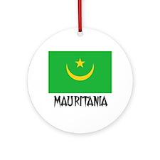 Mauritania Flag Ornament (Round)