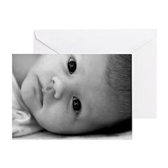 Baby's Eyes Greeting Card