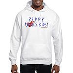 Fun With Zippy Hooded Sweatshirt