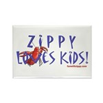 Fun With Zippy Rectangle Magnet (100 pack)