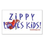 Fun With Zippy Rectangle Sticker 50 pk)