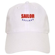 Retired Sailor Baseball Cap