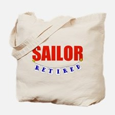 Retired Sailor Tote Bag
