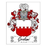 Girolami Family Crest Small Poster