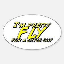 Fly for a Little Guy Oval Decal