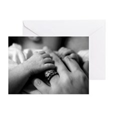 Baby's Precious Fingers Greeting Cards (Pk of 10)