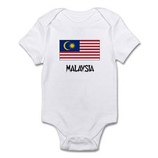 Malaysia Flag Infant Bodysuit