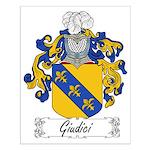 Giudici Family Crest Small Poster