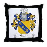 Giudici Family Crest Throw Pillow