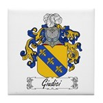 Giudici Family Crest Tile Coaster