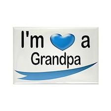 I'm a Grandpa Rectangle Magnet