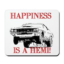AFTM Happiness Is A Hemi Mousepad