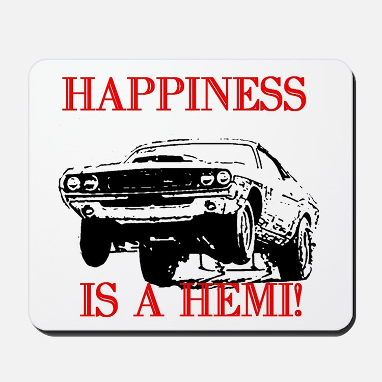 AFTM Happiness Is A Hemi Mousepad