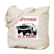 AFTM Happiness Is A Hemi Tote Bag