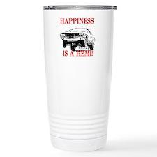 AFTM Happiness Is A Hemi Travel Mug