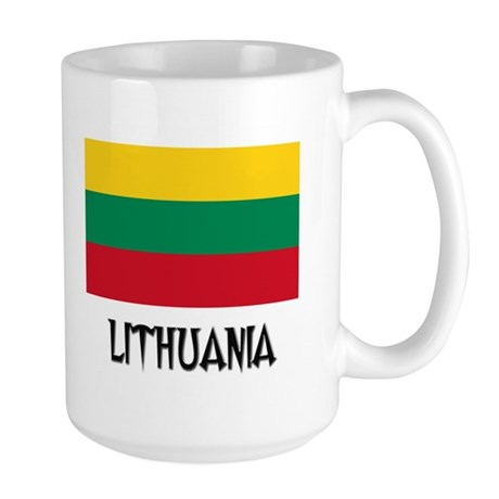Lithuania Flag Large Mug