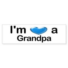 I'm a Grandpa Bumper Bumper Sticker