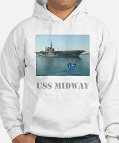 Hooded USS Midway Sweatshirt